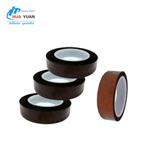 Samples Heat resistance PCB silicone insulation Amber/ Black Polyimide adhesive tape with die-cutting