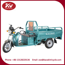 open body strong large power cargo three wheels little pickup truck vehicle for snake vending