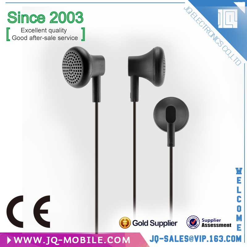 Free Sample Stylish In-ear Headphone With Microphone Cable Mega Bass Headphone