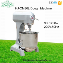 HUIJU 1250W 30L Top-quality dough mixer prices best hobart dough mixer 25 kg frozen dough whisk machine HJ-CM30L