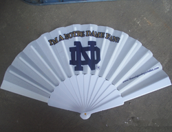 custom 23cm spanish wood plastic foldable hand fan for sale