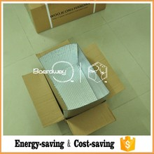 High reflectivity aluminum foil insulation blanket /heat insulation blanket for shipping box liner
