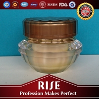 Top grade TUV Cosmetic Empty plastic jar with lid