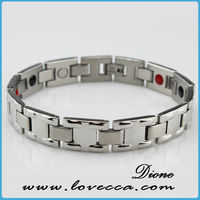 2015 Wholesale Stainless Steel Bracelet,Luxury Fashion Energy Bracelet as gift , men's steel germanium bracelet benefits
