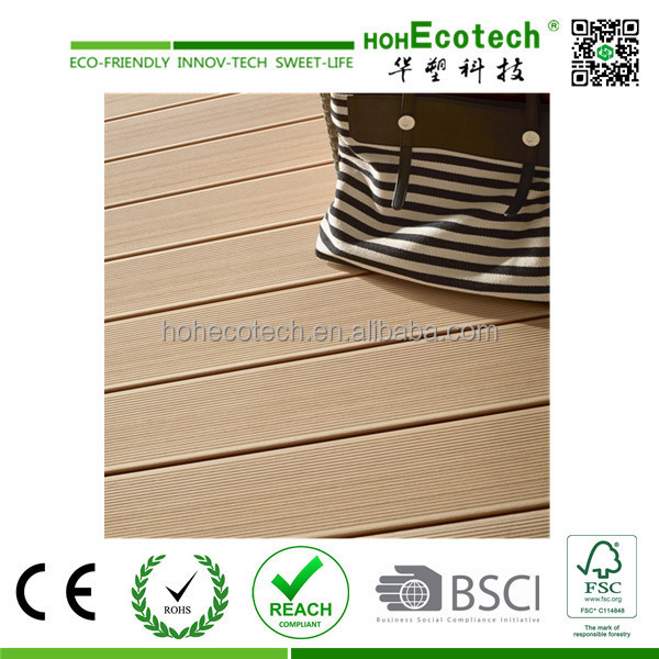 100% recyclling deck / wood plastic composite outdoor furniture