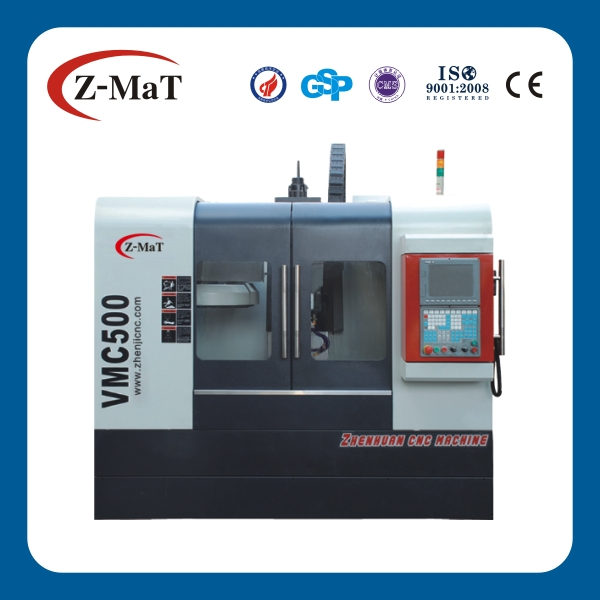 VMC500 small cnc milling machine with 4 axis/4 axis cnc milling machine centers