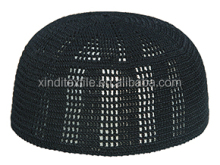 Manufacturer wholesale hand knits made Islam style hat