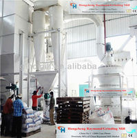 China No.1 Raymond smash roller bowl mill for mineral powder production line