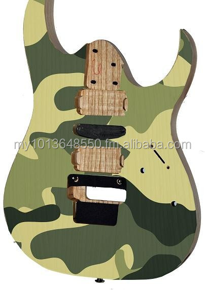Guitar skin, guitar body sticker