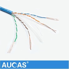 Ethernet Wiring Blue Grey UTP Cat6 Cat6e Network Cable