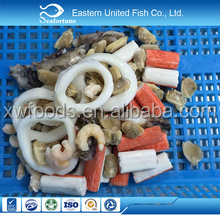 Frozen seafood mix types shell seafood wholesale price