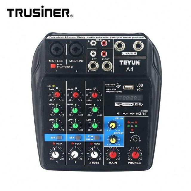Professional Household Digital Recording Mixers