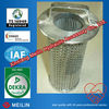 Sintered mesh bag filters for cement dust