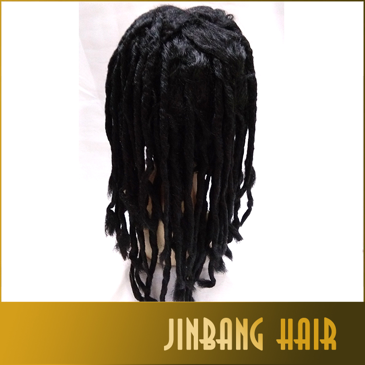 Men Dreadlocks Wig Dreadlocks Rasta Dreadlocks Hiphop Dance Synthetic Cosplay Wig/Cosplay Twist Hair Extension