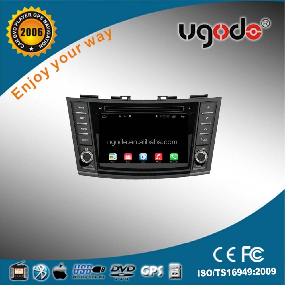 ugode factory supply directly car dvd with gps car multimedia player for suzuki swift