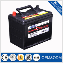 60AH Capacity and 12V Voltage world best car battery