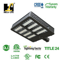 Title 24 Pole mount 225W 300W 380W led shoebox with motion sensor