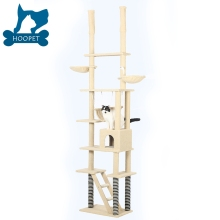 Durable Coner Cat Exercise Tree Condo Natural Sisal Cat Scratching Post Tall Pet Cat Tree House