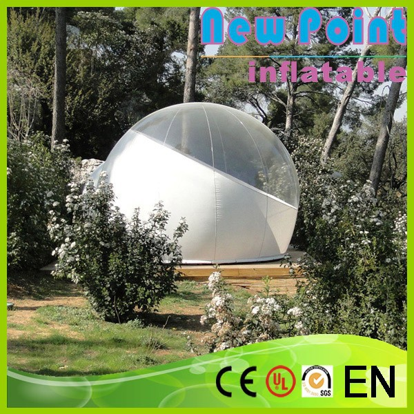 New Point Customized commercial grade inflatable crystal bubble tent for sale