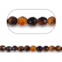 2-3 mm round wholesale natural tiger eye fashion crystal loose gemstone stone beads for necklace bracelet jewelry making