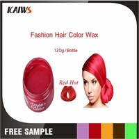 Wholesale Super Firm Holiding 120g China Hair Wax Red One
