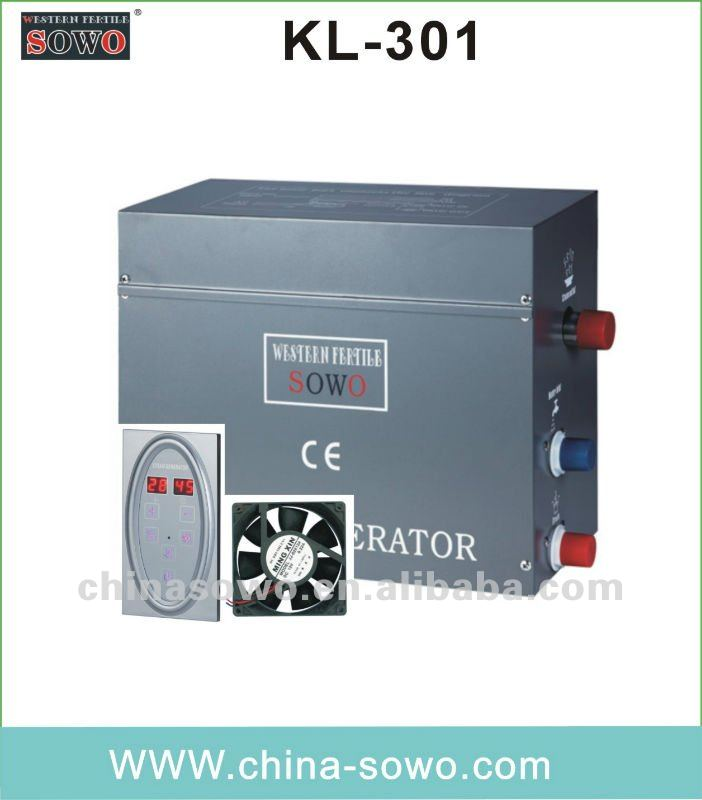 aesthetic wet steam bath machine with KL-301 controller
