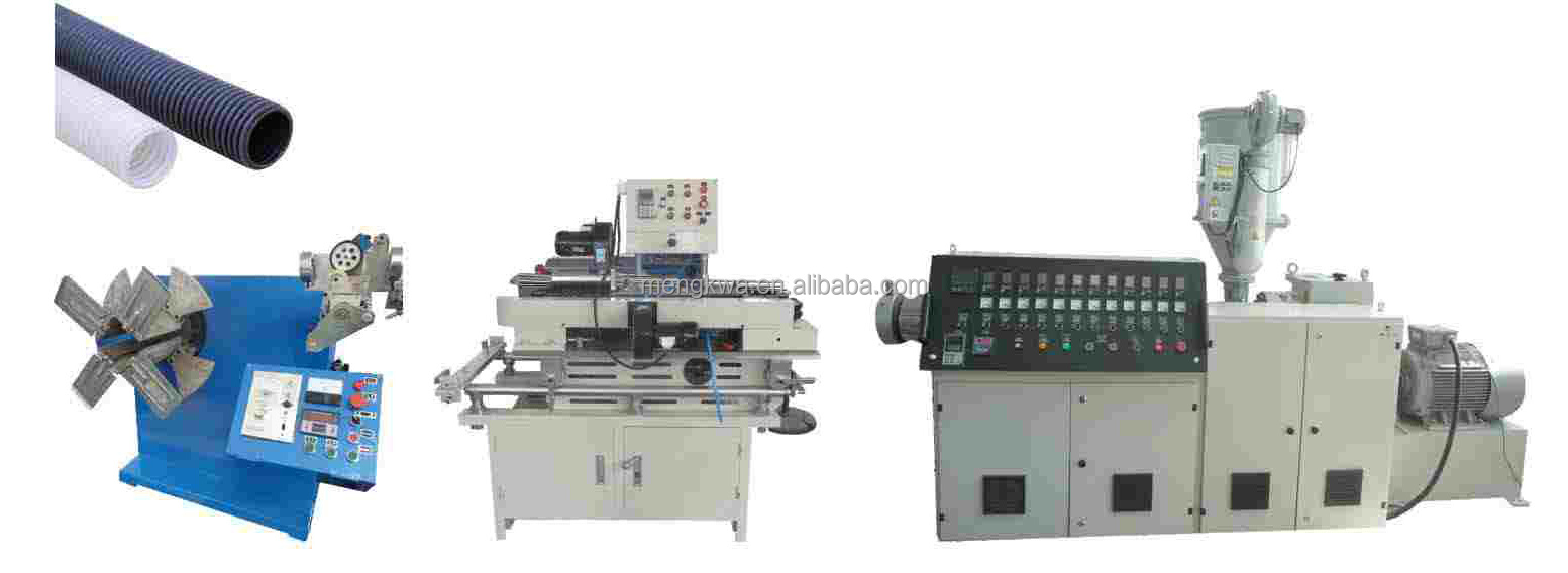 Performance Single Wall Corrugated Pipe Extruder Machine
