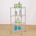 Mini bathroom wire shelving Competitive price wire rack factory direct sale wire shelving