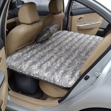SUV Seat Sleep Inflatable Air Bed Travel Outdoor Car Air Mattress & Pillow