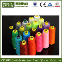 Ring Spun Technics and Raw Pattern 100% polyester sewing thread, 40/2 polyester sewing thread, cheap sewing thread wholesale
