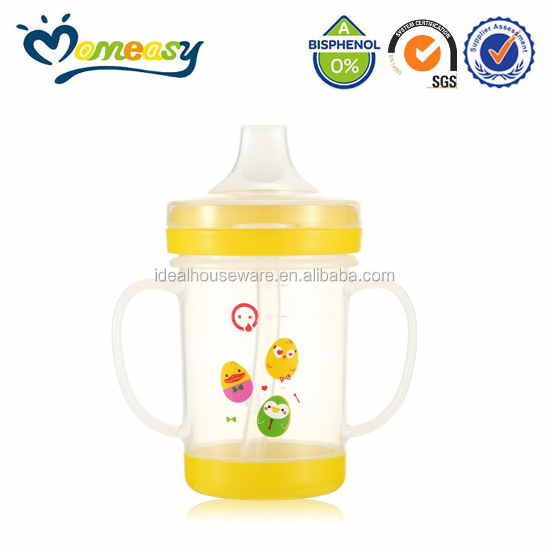 Baby Training Cup With Straw Plastic Cups Drinking Cups