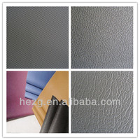 Factory selling PVC leather for car/automotive/bus/truck/boat seat,interior decoration