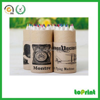 Gift packaging paper box cardboard round box for pen/pencil packaging