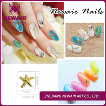 New Arrive Alloy Glitters Crystal Rhinestones For Nail Art Decoration DIY metal nail 3D Nail Art Decoration