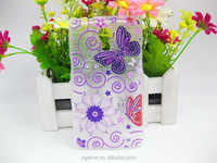 Premium fancy cell phone cover brush printing case for samsung G3518 with custom design