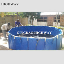 Large fish farm tank fish pond outdoor for koi fish show 5000l, 7000l,10000l