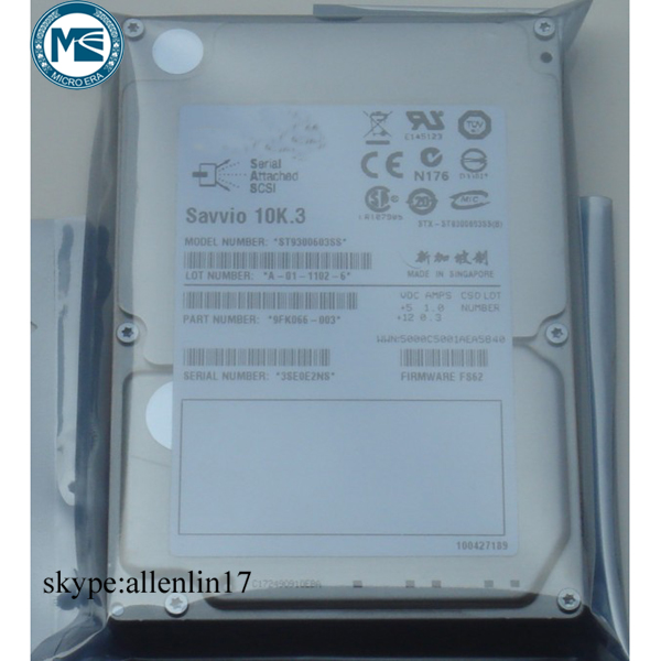 new for Seagate ST9300603SS 300G 2.5 SAS 10K server hard drive