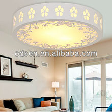 White color ceiling suspender lamp for living room