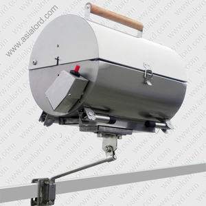 New Products Marine Design Stainless Steel Foldable BBQ Gas Grill