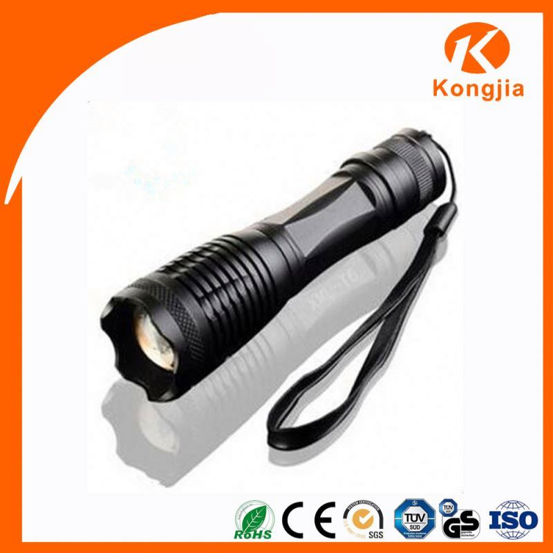 Timely Service Ultra-Bright Adjustable Beam Super Ray Flashlight