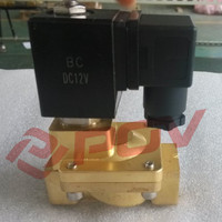 SLPM-25 1 inch brass thread 12v dc gas lucifer solenoid valve