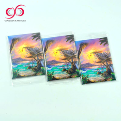 Guangzhou factory 2d paper 3mm thick fridge magnet advertising magnets for fridge