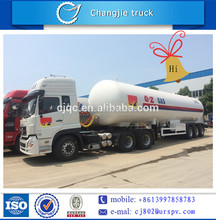 liquified natural gas tanker semi trailer LPG truck for sale