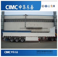 CIMC 3 axle side wall express cargo trailers hauler
