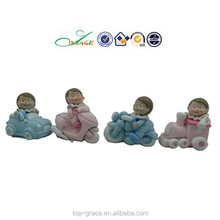 resin baby figures,mini baby crafts,polystone figurines