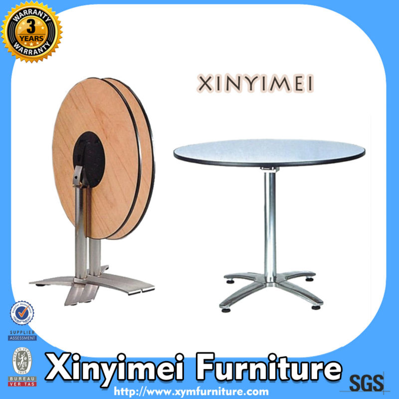 Coffee Melamine Round Bar Counter XYM-T16