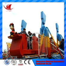 High quality outdoor playground used flying carpet