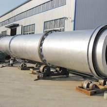 Mechanical Design Aggregate Gypsum Continuous Indirect Rotary Dryer