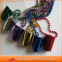 wholesale plastic party necklace cup necklace bead necklace