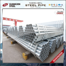 factory hot sales galvanized steel pipe post and rail fencing